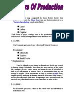 Factors of Production01