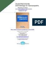 Textbook of Dermatology for Homoeopaths Ramji Gupta R K Manchanda.01825 2