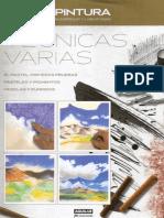 Curso de Dibujo y Pintura 3 - Tecnicas Varias - El Pastel 1, Primeras Pruebas
