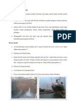 Persiapan Kapal Masuk Dock