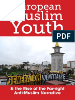 European Muslim Youth and the Rise of the Far-right Anti-Muslim Narrative