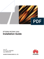 BTS3900 Wcdma Installation Guide