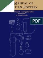 A Manual of Egyptian Pottery Vol. 1 - Anna Wodzinska