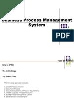Business Process Management System CD
