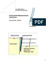 Supervison of Instrumentation and Monitoring Works