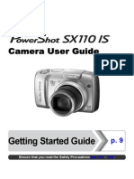Canon Powershot  SX110 IS Camera User Guide