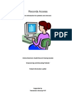 Records Access - An Introduction for Patients and Clinicians Version 7
