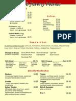 cafe jenny menu online - option 2
