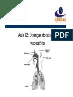 Aula 12 -Doencas Do Sistema Respiratorio