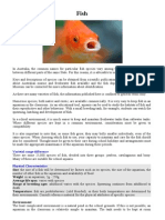 Speciesnotes Fish