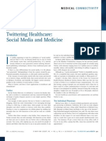 Twitter in Medicine