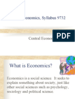 Central Economic Problem (H2 and H1) Set 1 (18 Feb 2013)