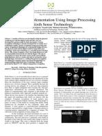 Sixth Sense Implementation of Hand Cursor Using Image Processing