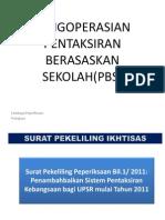Pengoperasian Pentaksiran Sekolah_KS SPPMRR_2011