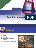 principii anestezie
