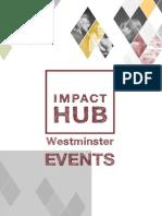 Impact Hub Westminster Event Brochure 2014