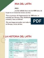 Tema 1 Latin 4 ESO Historia Del Latin Pw Point