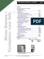 Motor Starter and Contactors