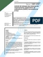 NBR 13787 - Controle de Estoque Dos Sistemas de Armazenamento Subterraneo de Combustiveis (S
