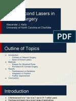 femtosecond lasers in ocular surgery
