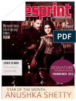 South Indian Film Magazine | Cinesprint Magazine | Sandalwood Cine Magazine | Cinesprint Volume 2 Issue 7