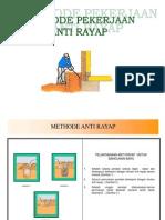Metode Anti Rayap