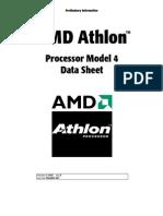 Datasheet AMD Athlon II