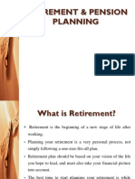 Retirement & Pension Planning Slides