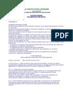 La Constitution Ivoirienne