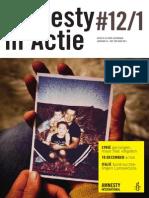 Amnesty in Actie nr. 12 - december 2013 - janauri 2014