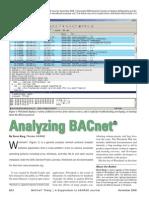 Analyzing BACnet