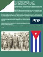 Breve Introduccion a La Revolucion Cubana AMADOR
