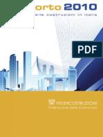 Federcostruzioni - Rapporto 2010