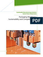 Packaging Machinery Sustainability Competitiveness