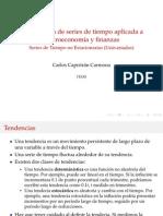 Series de Tiempo No Estacionarias Univariadas Junio11