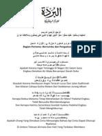 Qasidah Burdah Terjemahan