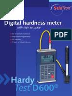 SaluTron HardyTest D600 English