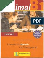 optimal b1 - lehrbuch für deutsch als fremdsprache