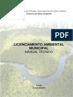 Licenciamento Ambietal Manual