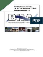 A Guide to UK Mini-hydro Development v3
