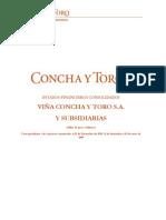 Estados Financieros Concha y Toro