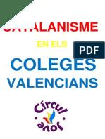 Catalanisme en els coleges valencians i els llibres de text