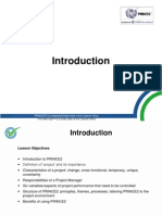01 Introduction To prince2