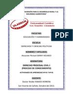 Actividad de Aprendizaje N° 01 y 02