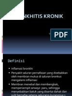 BRONKHITIS KRONIK