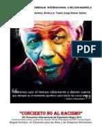 Boletin Concierto Homenaje a Mandela