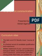 Cv Communication