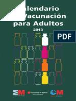 vacunas adultos calendario