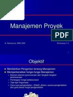 Management Proyek 1
