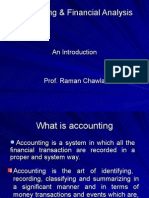 Accounting & Financial Analysis II